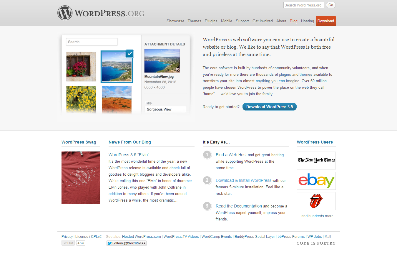 WordPress › How to install Wordpress