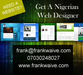 Nigerian Web Designer