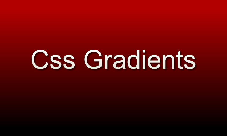 How to Use CSS Gradients